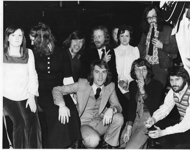 Disc staff 1972?
